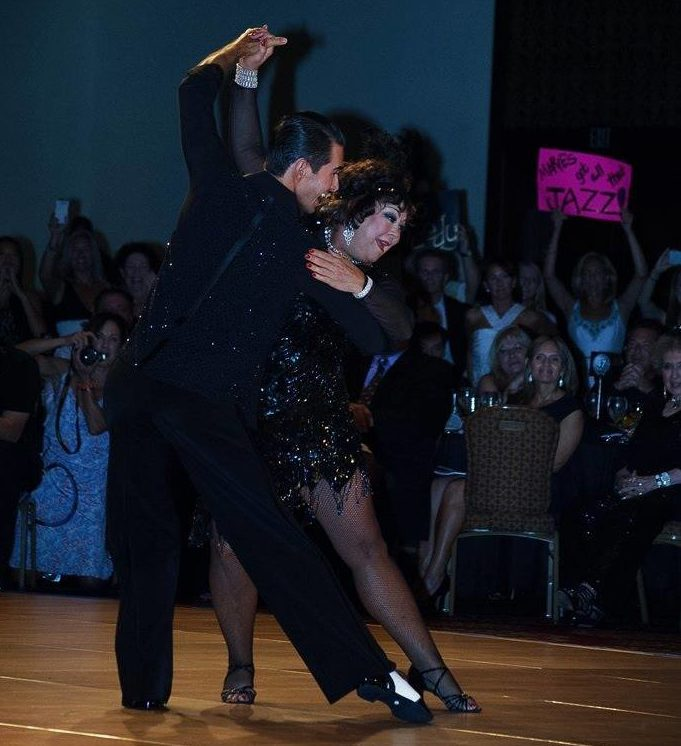 Me dancing at the 2013 Boca Ballroom Battle. Photo by Lacey Lin Photography.