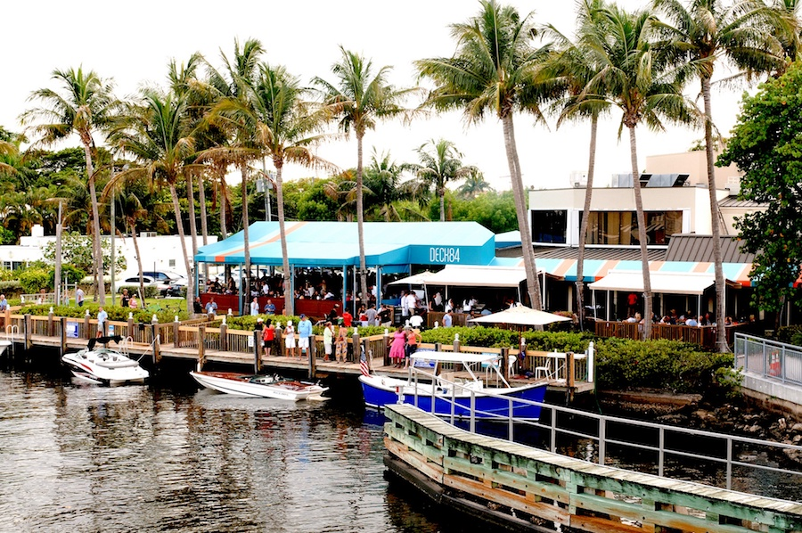 Views of the intracoastal at Deck 84.