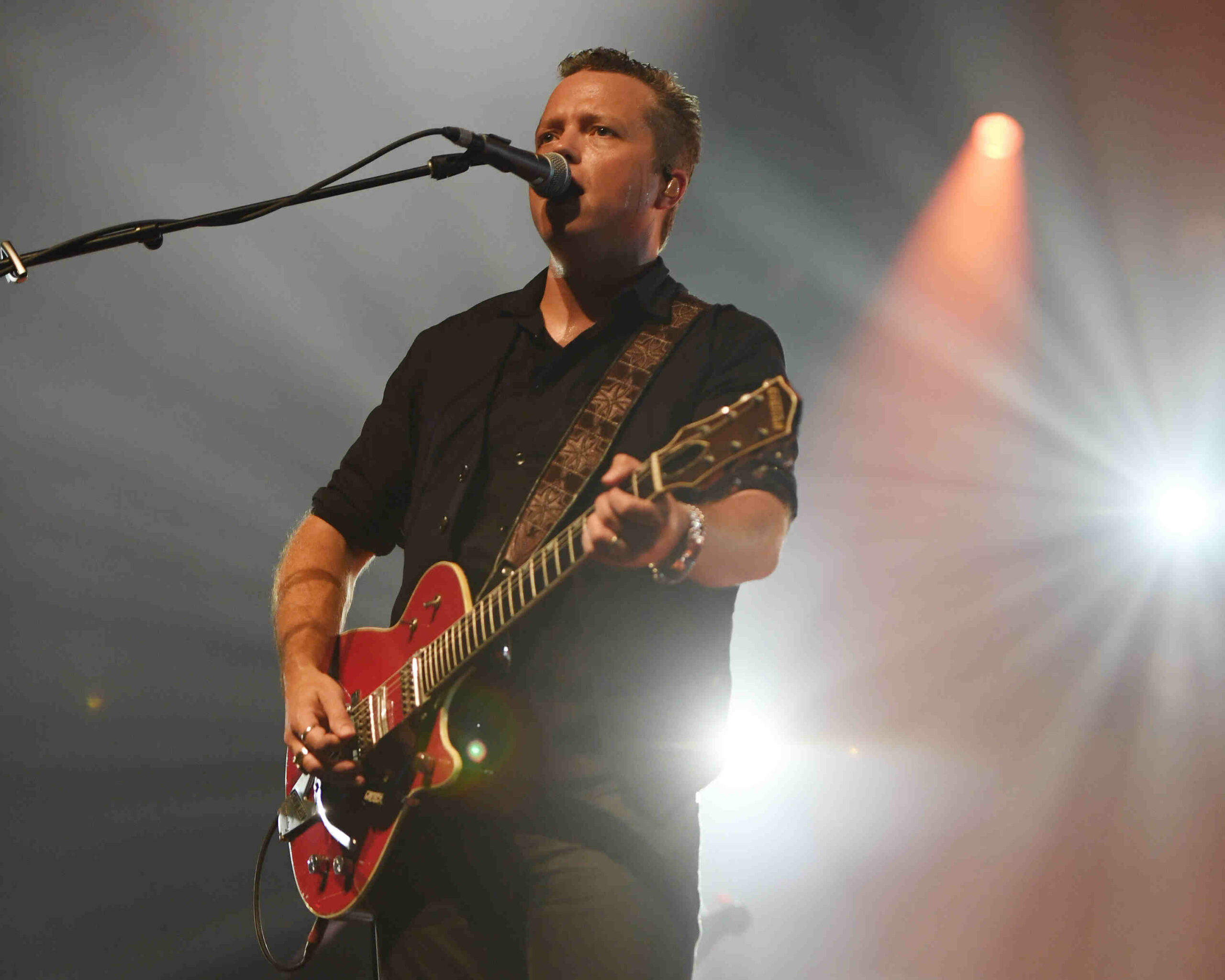 MIAMI BEACH, FL - JULY 21: Jason Isbell of The 400 Unit performs at the Fillmore on July 21, 2017 in Miami Beach, Florida. Credit Larry Marano © 2017