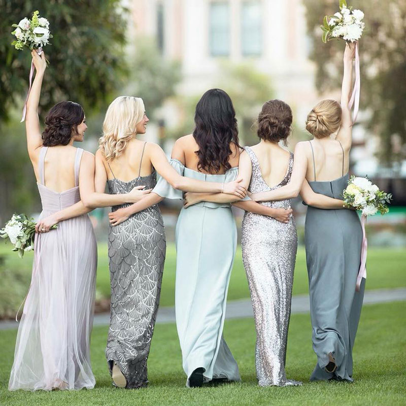 Sorella Vita bridesmaid dresses.