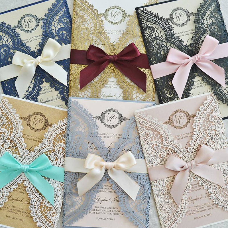 Paper & Lace invitations. Photo courtesy of Paper & Lace.
