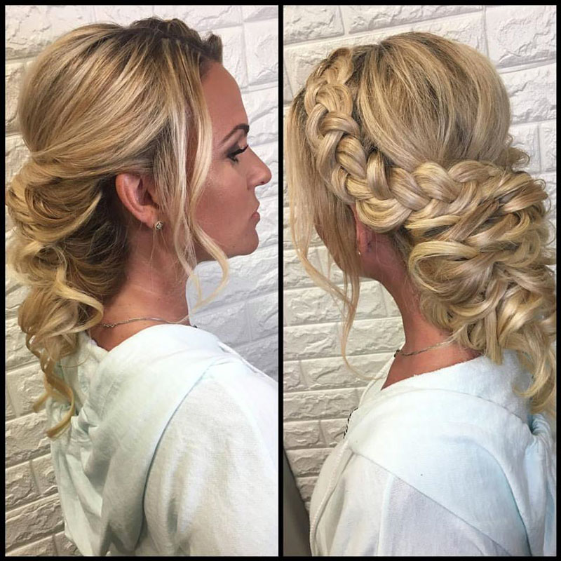 Beautiful braids by Sandra Grace.