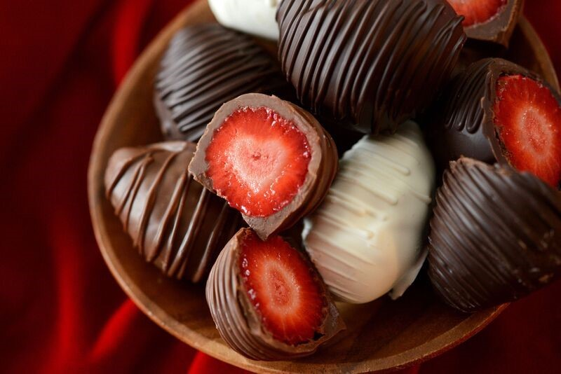 Hoffmans Chocolate-Covered Strawberries
