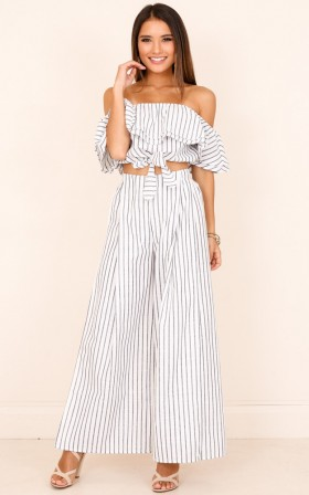 Count Your Lucky Stars Two-Piece Checkered Set