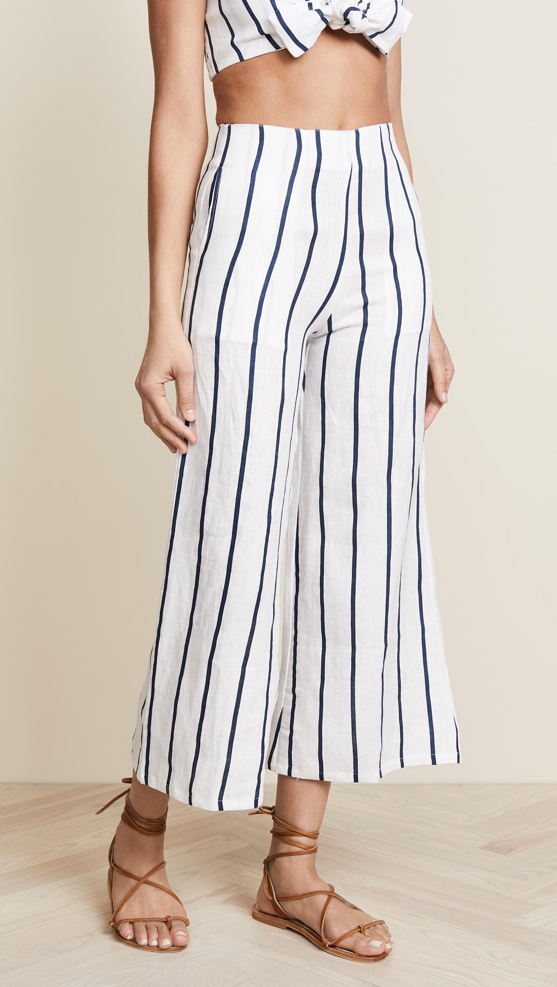Thomas Striped Culottes
